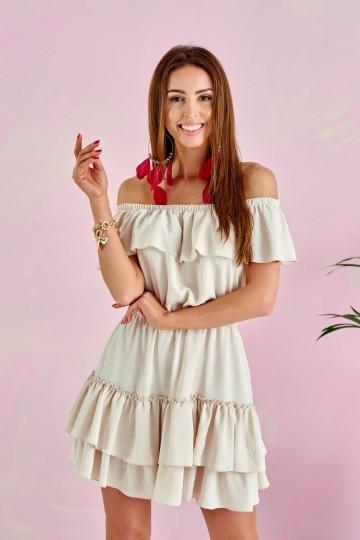 Sukienka Fiana BEJ